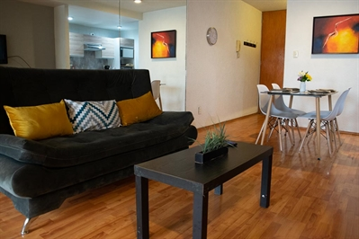 Furnished accommodation Aniceto Ortega - Metro Zapata 1 (4585)