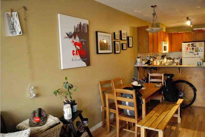 Living - Dining - Kitchen