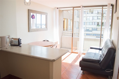 Furnished accommodation Ramon Corvalan - Metro Baquedano 15 (2448)